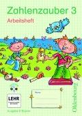 Zahlenzauber 3 Ausgabe E. Arbeitsheft mit CD-ROM. Bayern