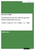 Schriftliche Unterrichtsvorbereitung zum Thema: Antijüdische Gesetze